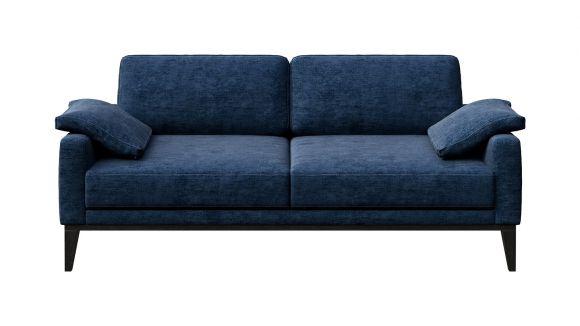 Canapea liniara 3 locuri Calini Italvelluti Dark Turquoise