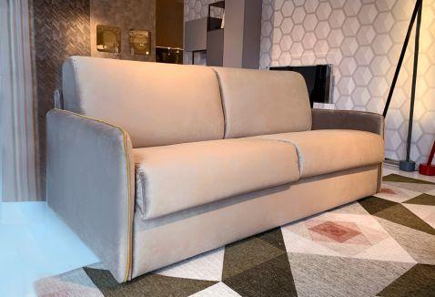 Canapea extensibila 3 locuri Jennifer Velvet Tiffany Mika