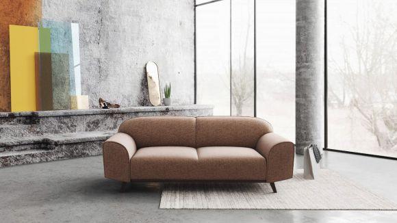 Canapea liniara 2 locuri Carilo Pink Quartz